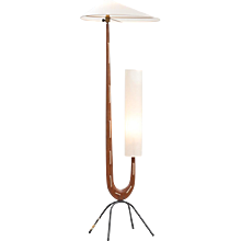 Rispal sculptural floor lamp