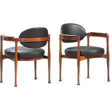Set of 4 Italian dining chairs