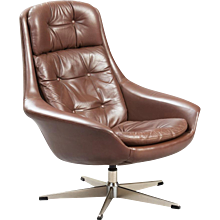 Henry Walter Klein Swivel Lounge Chair