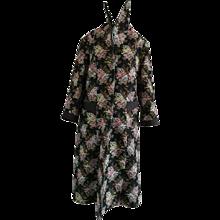 1970s Vintage Flowers Coat