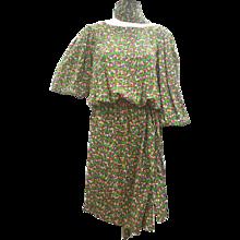 1970s Yves Saint Laurent Multicoloured Dress