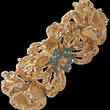 1980s Coro gold tone bracelet