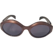 1980s Escada brown sunglasses