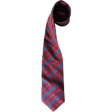 1980s Givenchy multicolour tie