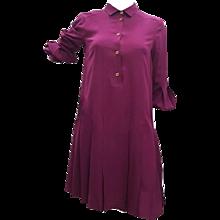 1980s Gucci Purple Dress