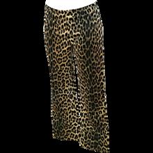1980s Moschino Cheetah Jeggings