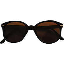 1980s Persol Dark Brown Sunglasses