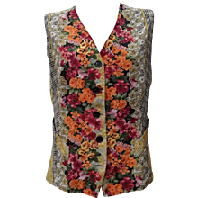 1980s Swish Multicolour Gilet