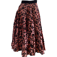 1980 Joe Davidson long skirt