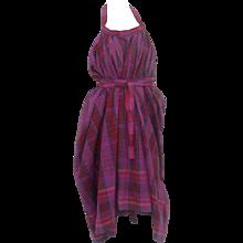 1980 Kenzo Purple Dress
