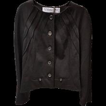 1990s Christian Dior black jacket