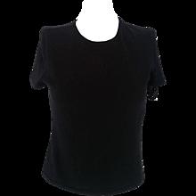 1990s Gucci black shirt
