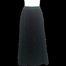 1990s Moschino jeans black skirt