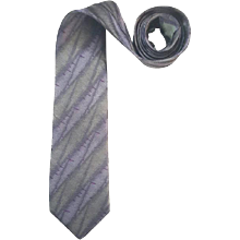 1990s Pierre Balmain multi violet tie