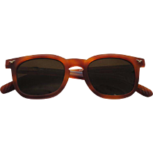 1990s Police Brown Sunglasses