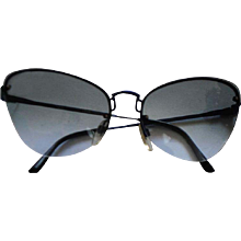 1990s Safilo Lightblu see through Sunglasses