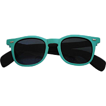 1990s Sunrock Green Sunglasses