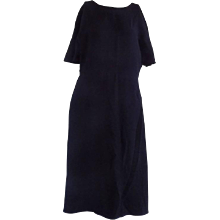 1990s Valentino Black Dress