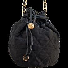 1992s Chanel black satchel