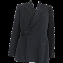 1997 - 1998 Rare Jean Paul Gaultier Black Wool Jacket
