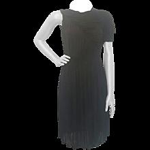 2000s Francesco Scognamiglio black dress