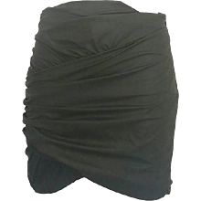 2000s Msgm dark green skirt NWOT
