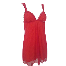 2002 John Galliano red beachwear NWOT