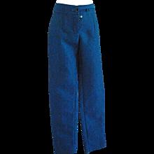 2012 Yves Saint Laurent blu pants NWOT
