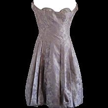 Alexander McQueen Silver light purple Dress NWOT