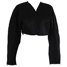 Byblos Black cotton Bolero