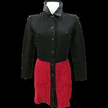 Byblos Blu Black & Red Dress