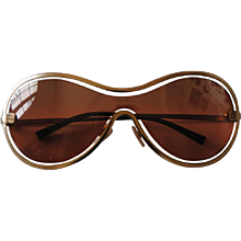 Chanel Peach Gold Sunglasses