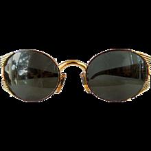 Fendi Gold tone tortoise Sunglasses