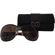 Dolce & Gabbana Leopard Sunglasses still with box