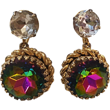 Elsa Schiaparelli Watermelon Clip-on earrings