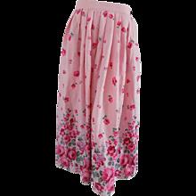 Emanuel Ungaro Pink Skirt