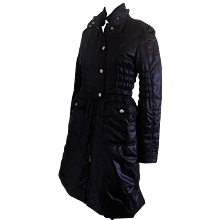 Fay long black jacket