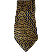 Fendi Blu Green Flower Tie