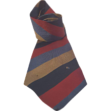 Fendi multicolour silk vintage tie