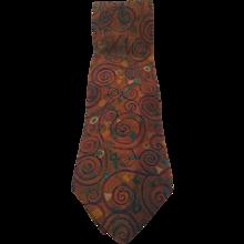 Fendi multicolour vintage tie