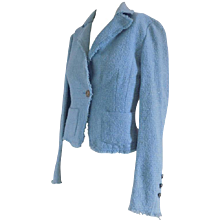 Gianni Versace light blu jacket