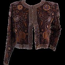 Grazia Bagnaresi brown jacket