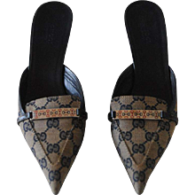 Gucci Monogram GG Sandals