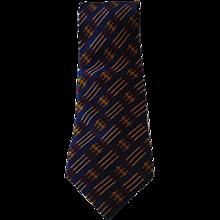 Hermes Blu Belts Tie