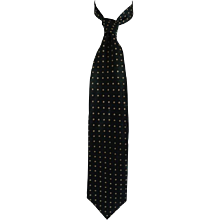 Hugo Boss Green Pois Silk Tie