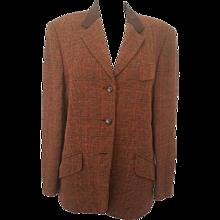 1980s Escada brown jacket in wool
