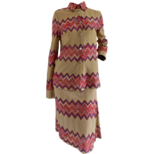 Missoni Multicolour Skirt Suit