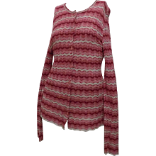 Missoni Pink Sweater Cardigan