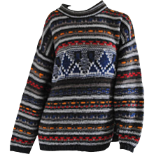 Missoni Sport Multicolour Wool Sweater