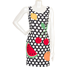 Vintage Cheap & Chic by Moschino Dress _ Watermelon Collection